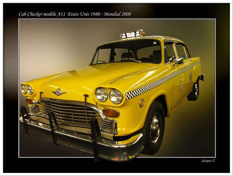 Cab Checker modèle A11
