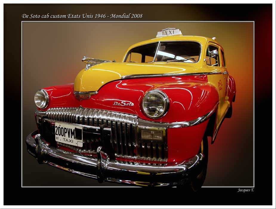 DeSoto cab