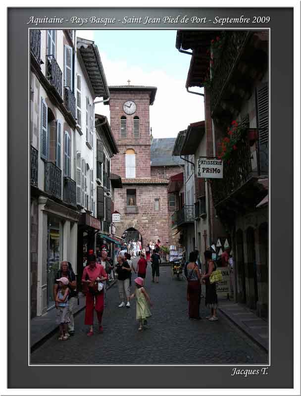 Ccarnets voyages aquitaine pays basque basse navarre - Lycee de navarre st jean pied de port ...